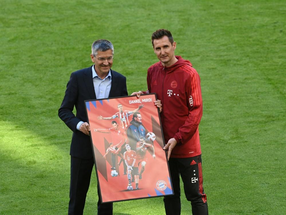 Klose wurde im Mai in München verabschiedet (Foto: SID)