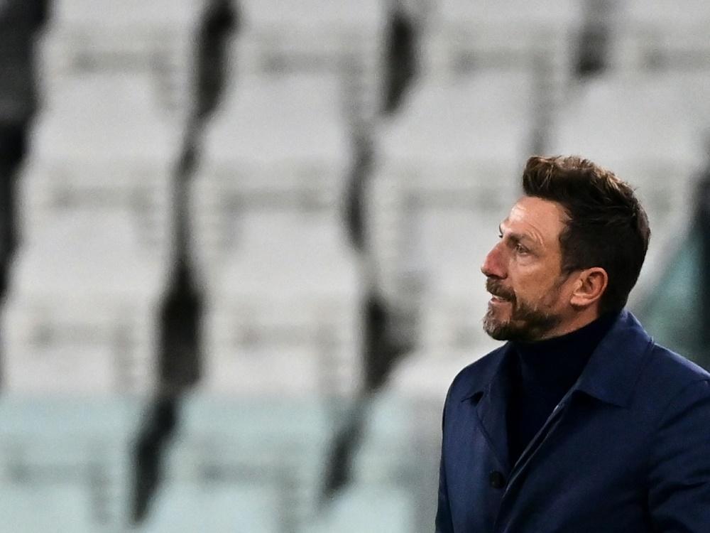 Hellas Verona trennt sich von Eusebio Di Francesco (Foto: SID)