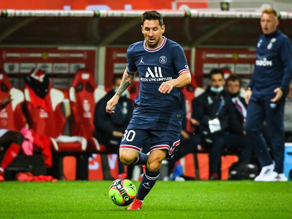 Paris: Messi startet erstmals in der Champions League (Foto: SID)