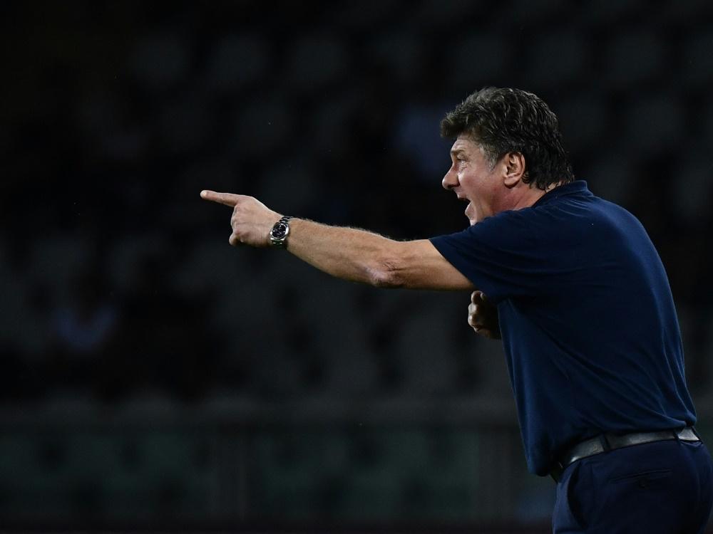 Walter Mazzarri ist der neue Trainer von Cagliari Calcio (Foto: SID)