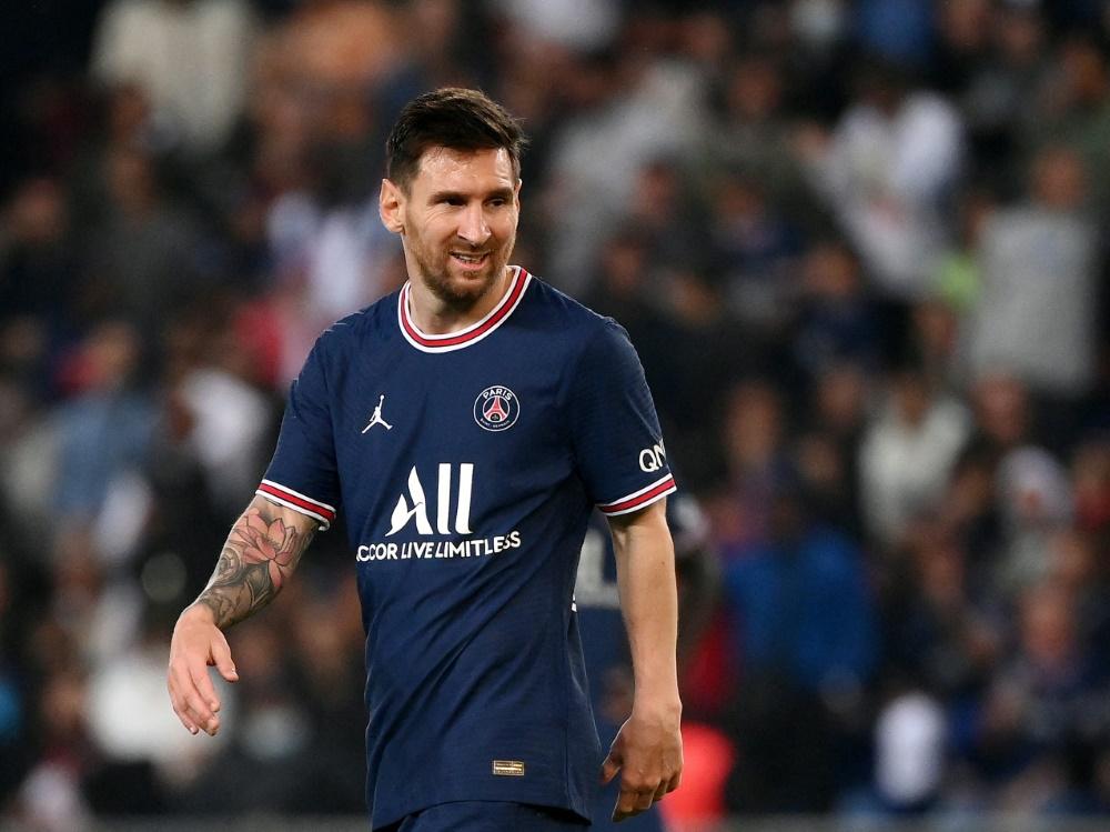 Messi wird PSG verletzungsbedingt fehlen (Foto: SID)