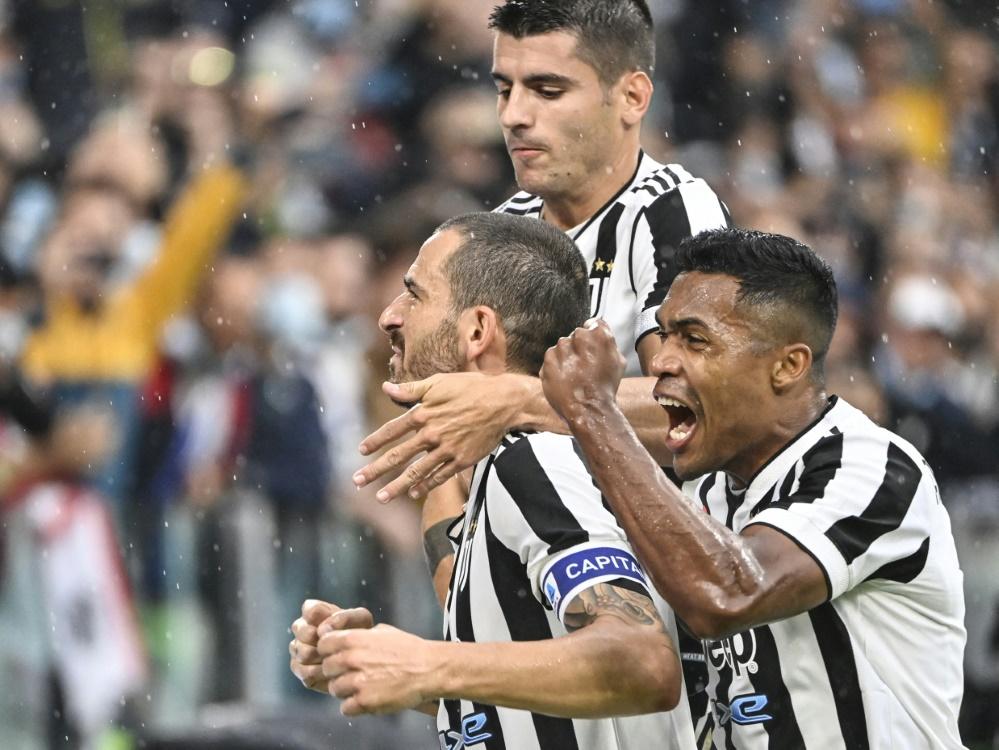 Juventus Turin gewinnt gegen Sampdoria Genua (Foto: SID)
