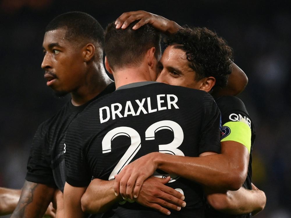 PSG eilt mit Torschütze Julian Draxler von Sieg zu Sieg (Foto: SID)