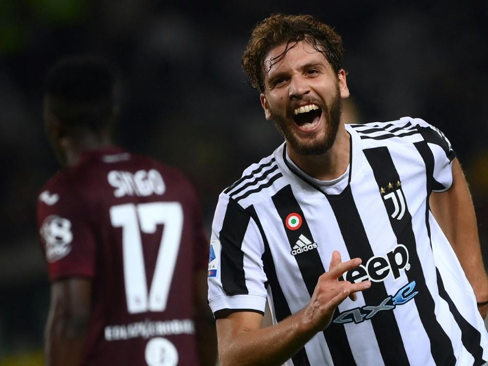 Manuel Locatelli erzielte den Siegtreffer für Juve (Foto: SID)