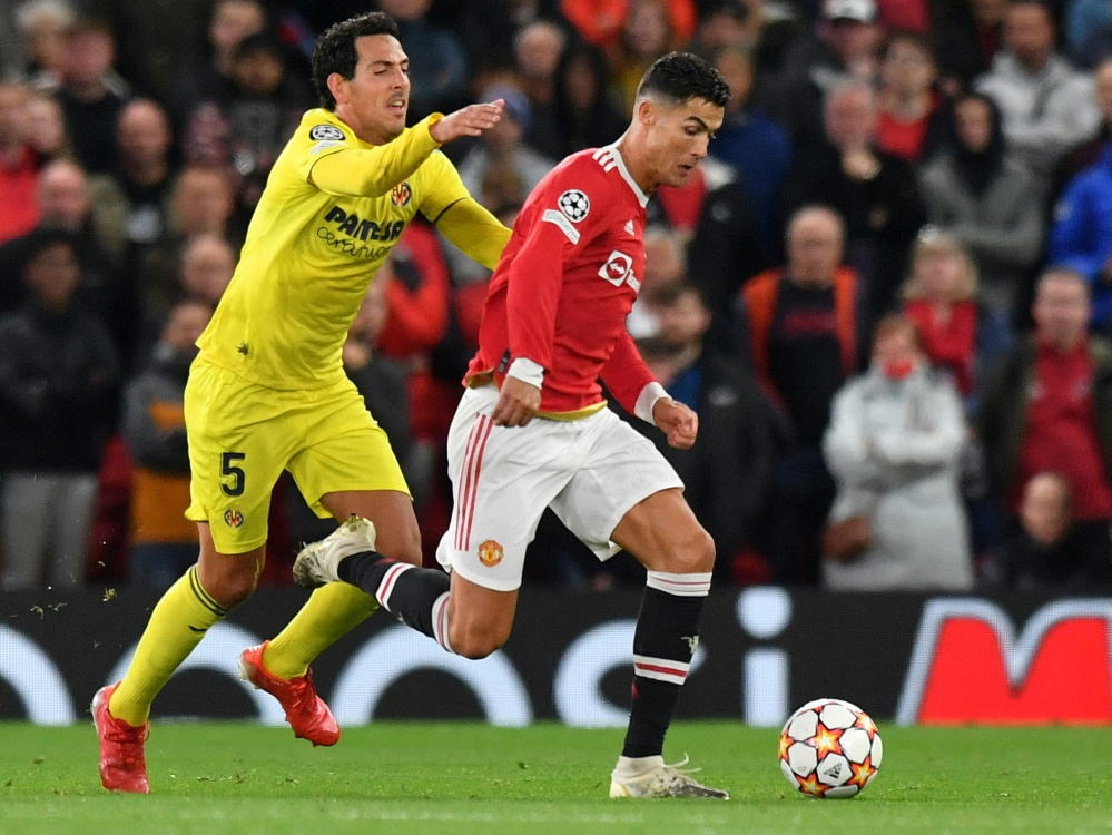 Cristiano Ronaldo schießt United ins Glück (Foto: SID)