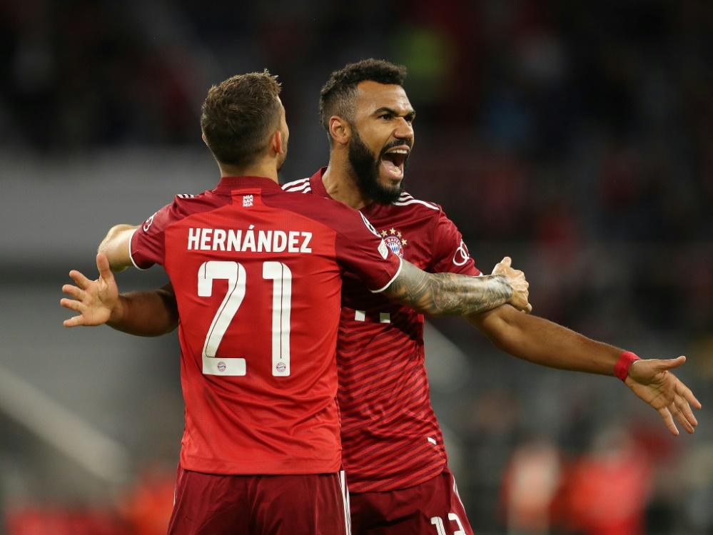 Bayern München ließ Dynamo Kiew keine Chance (Foto: SID)
