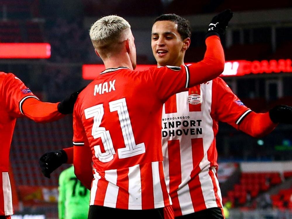 PSV Eindhoven bezwingt Sturm Graz deutlich mit 4:1 (Foto: SID)