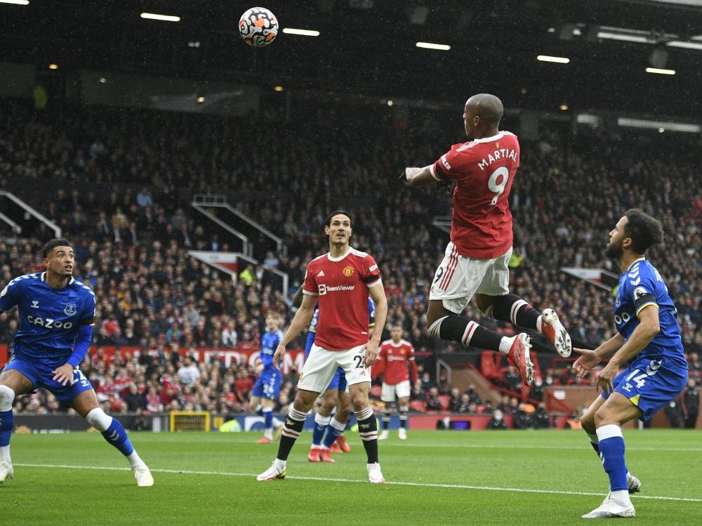 United und Everton trennen sich mit einem Unentschieden (Foto: SID)