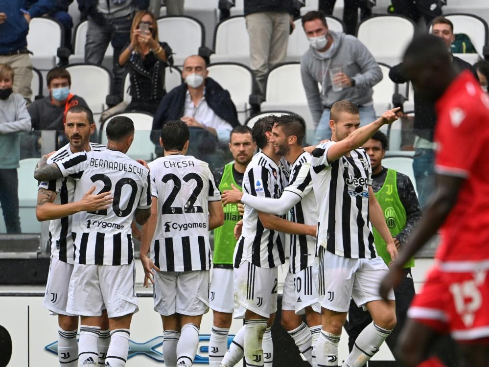 Italien: Juventus Turin kommt langsam in Fahrt (Foto: SID)