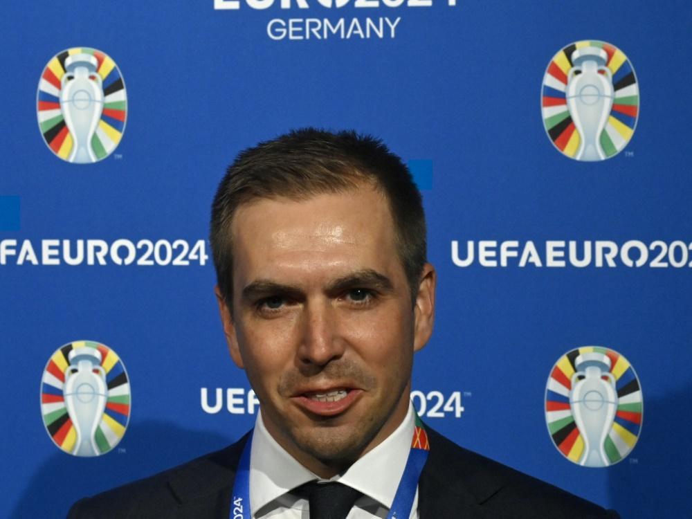 Philipp Lahm traut DFB-Elf 2024 den Titel zu (Foto: SID)