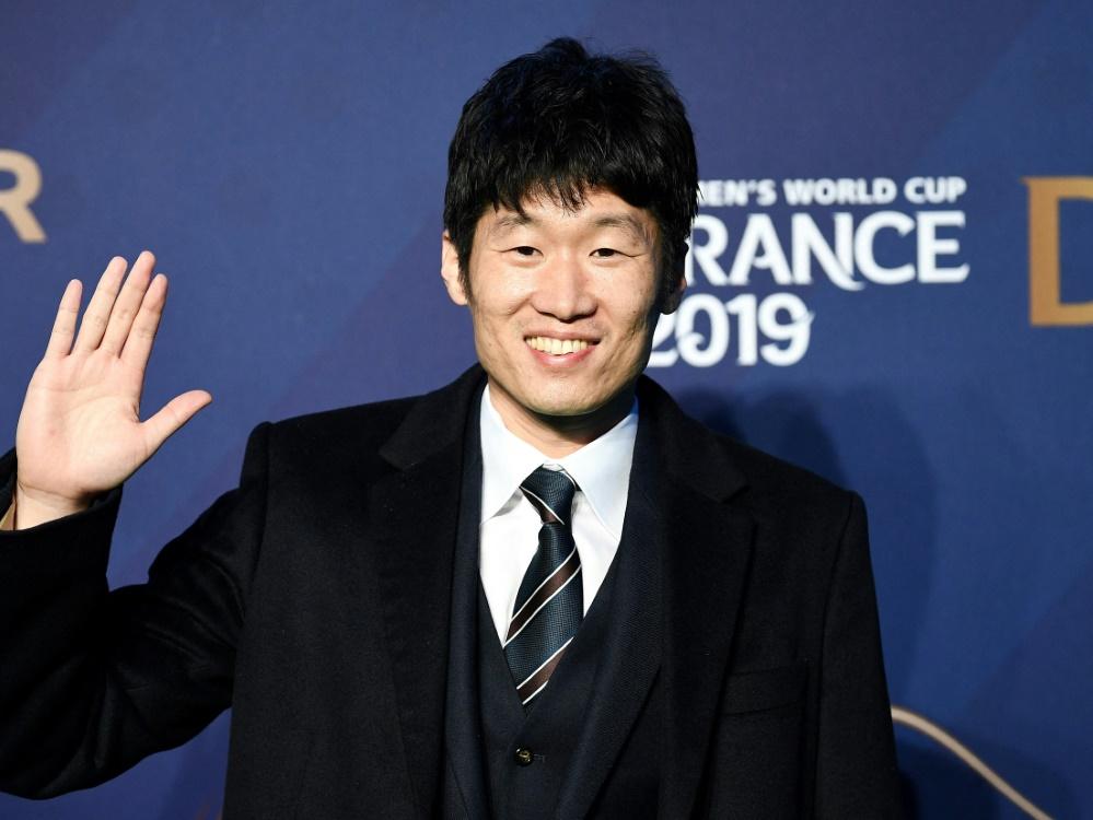 Park Ji-Sung appelliert an Manchester United Fans (Foto: SID)