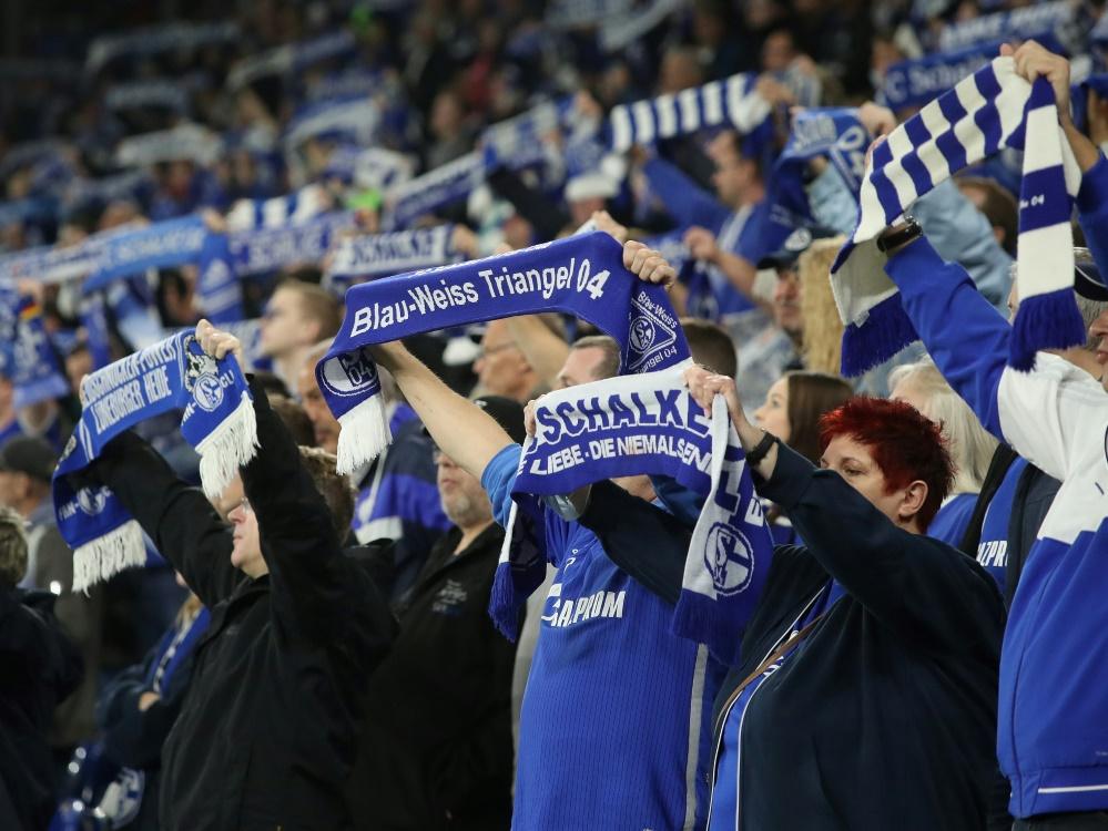 Gegen Dresden dürfen 56.617 Fans in die Arena (Foto: SID)