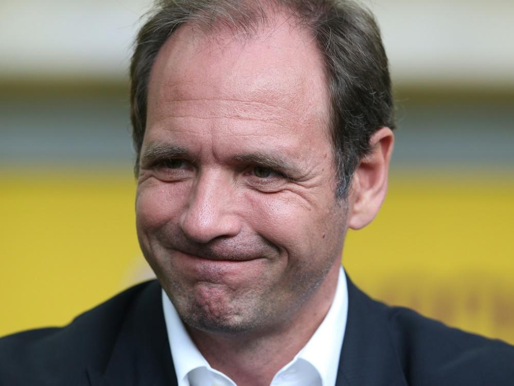 Nach Abschied: Schmidt bekundet Einigkeit bei Hertha (Foto: SID)