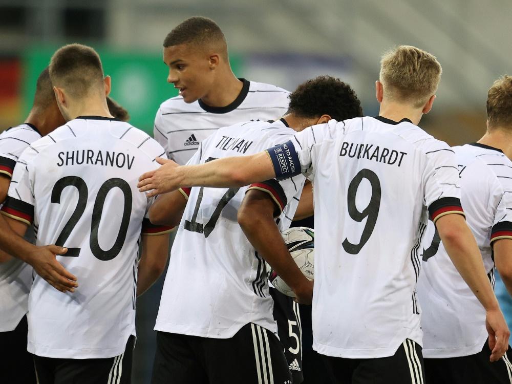Die deutsche U21 gewinnt deutlich gegen Ungarn (Foto: SID)