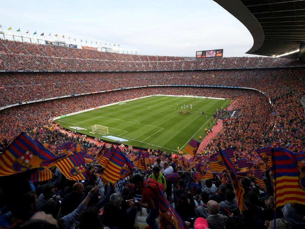 Das Camp Nou darf wieder voll ausgelastet werden (Foto: SID)