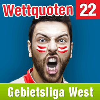 Gebietsliga West 14/15: Aktuelle Wettquoten Runde 22 - wetten-glw