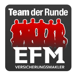 """Regionalliga Ost 2017/18: """"EFM Versicherungsmakler"""" Team der Runde 20"""