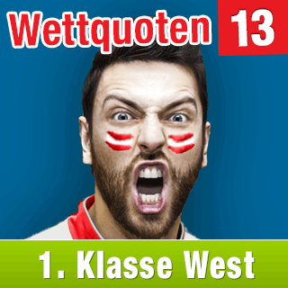 Klasse West 15/16: Aktuelle Wettquoten Runde 13 - wetten-1w