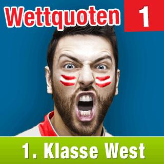 Klasse West 15/16: Aktuelle Wettquoten Runde 1 - wetten-1w